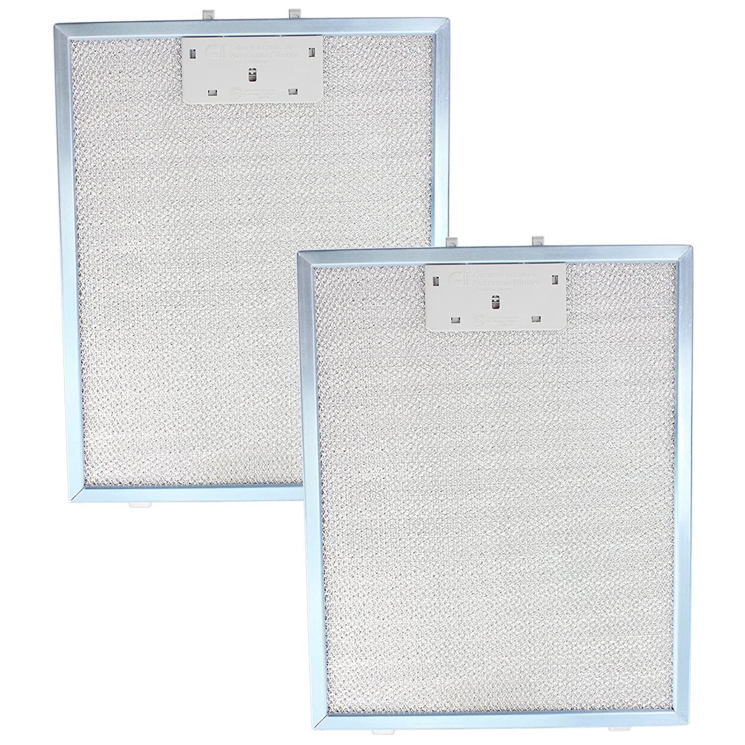 Diplomat ABA2640 Metal Mesh Cooker Hood Filters for Extractor Vent (Pack of 2, Blue, 300 x 240 mm)
