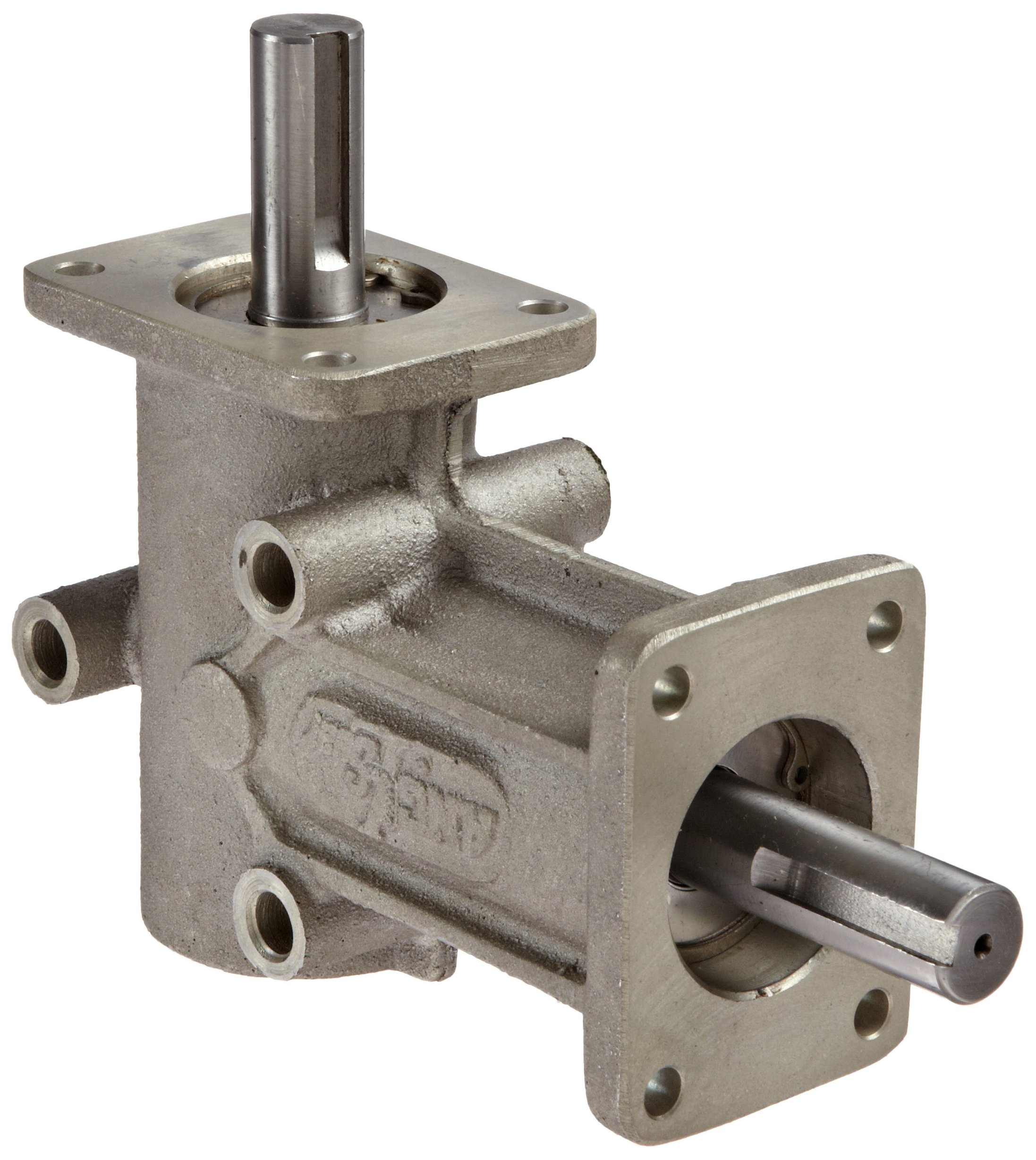 Andantex R3200-2M Anglgear Right Angle Bevel Gear Drive, Universal Mounting, Single Output Shaft, 2 Flanges, Metric, 15mm Shaft Diameter, 2:1 Ratio.32kW at 1750rpm by Andantex