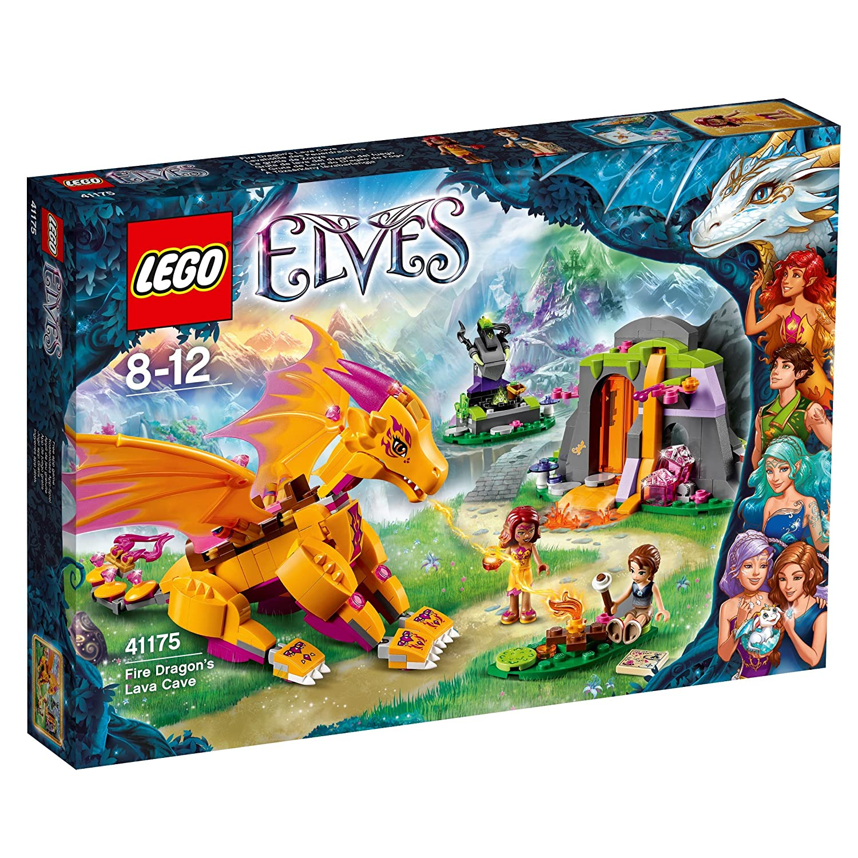 Ultramoderne LEGO 41175 Elves Fire Dragon's Lava Cave: Amazon.co.uk: Toys & Games SP-85