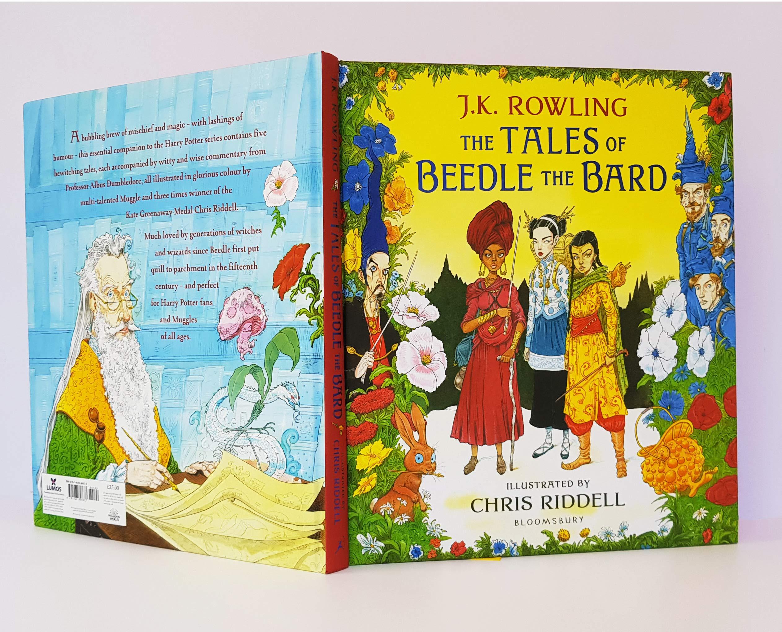 The tales of beedle the bard ebook door j. K. Rowling.