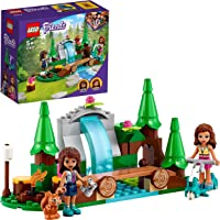 LEGO 41677 Friends Forest Waterfall Camping Adventure Set, with Andrea and Olivia Mini Dolls, Toy for Kids 5+ Years Old