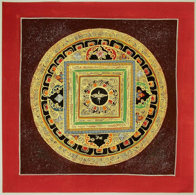 Amazon.com: Buddha Eye Mandala Tibetan Thangka Painting 10.03\