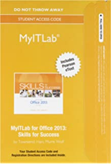 Skills for success with office 2013 volume 1 skills for success mylab it with pearson etext access card for skills for success with fandeluxe Images