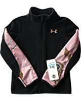 Under Armour Girls Camo Realtree Treehouse Full Zip Fleece Jacket Size 5