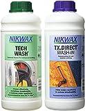 Nikwax Tech Wach an TX. Direct Wash-In (Pack of 2)