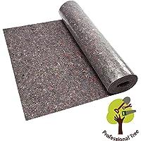 ProfessionalTree Malervlies ca. 1 m x 50 m = 50 m² Abdeckvlies in Premium Qualität mit PE Anti Rutsch Beschichtung 180g je qm stark