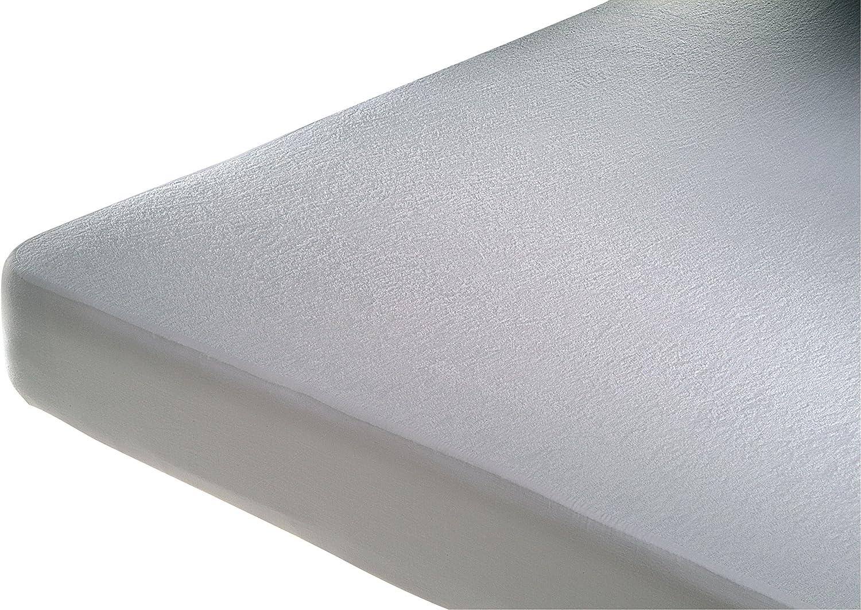 Cándido Penalba Protector de colchón Marfil, Algodón, Blanco, 90 x 190 cm
