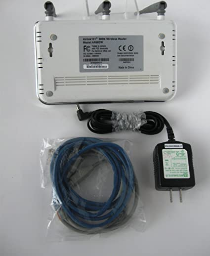 software router ar680w