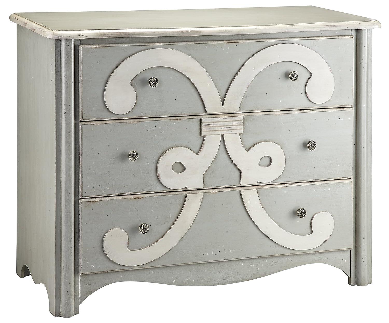 Amazon.com: Stein World Furniture Chesapeake Chest, Cadet Grey, Cream:  Kitchen U0026 Dining