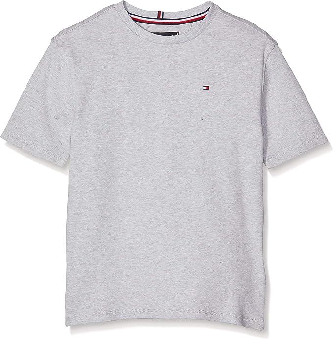 Tommy Hilfiger Boxy Back Print tee S/S Camiseta para Niños: Amazon ...