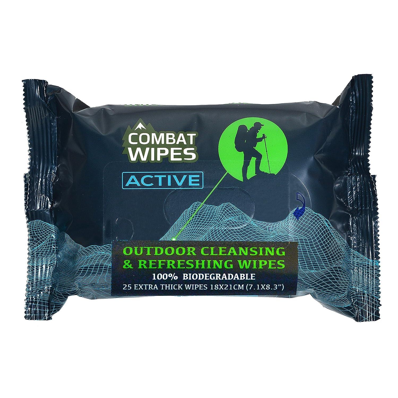 Combat Wipes Active Outdoor Wet Wipes