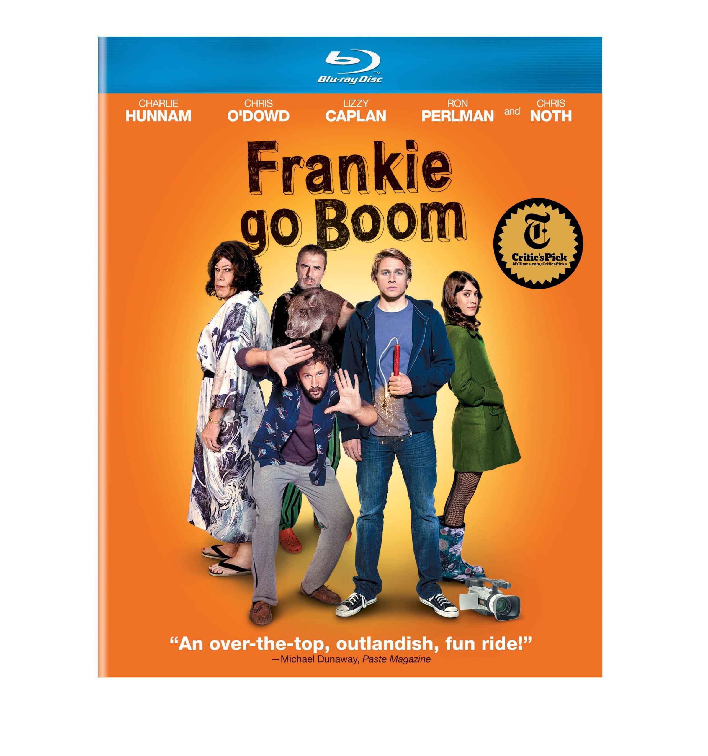 Blu-ray : Frankie Go Boom (Snap Case, Slipsleeve Packaging)