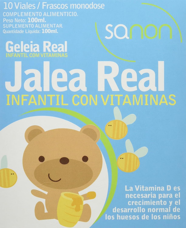 Sanon Jalea Real Infantil - 3 Paquetes de 10 Unidades: Amazon.es ...