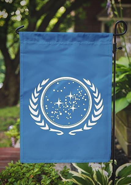 Star Trek Garden Flag | United Federation of Planets | 12 5 x 18 in