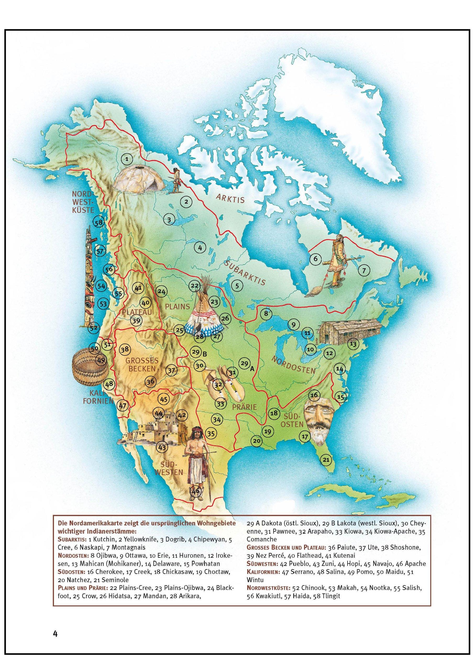 Indianerstamme Nordamerikas Karte.Amazon In Buy Was Ist Was Bd 42 Indianer Book Online At
