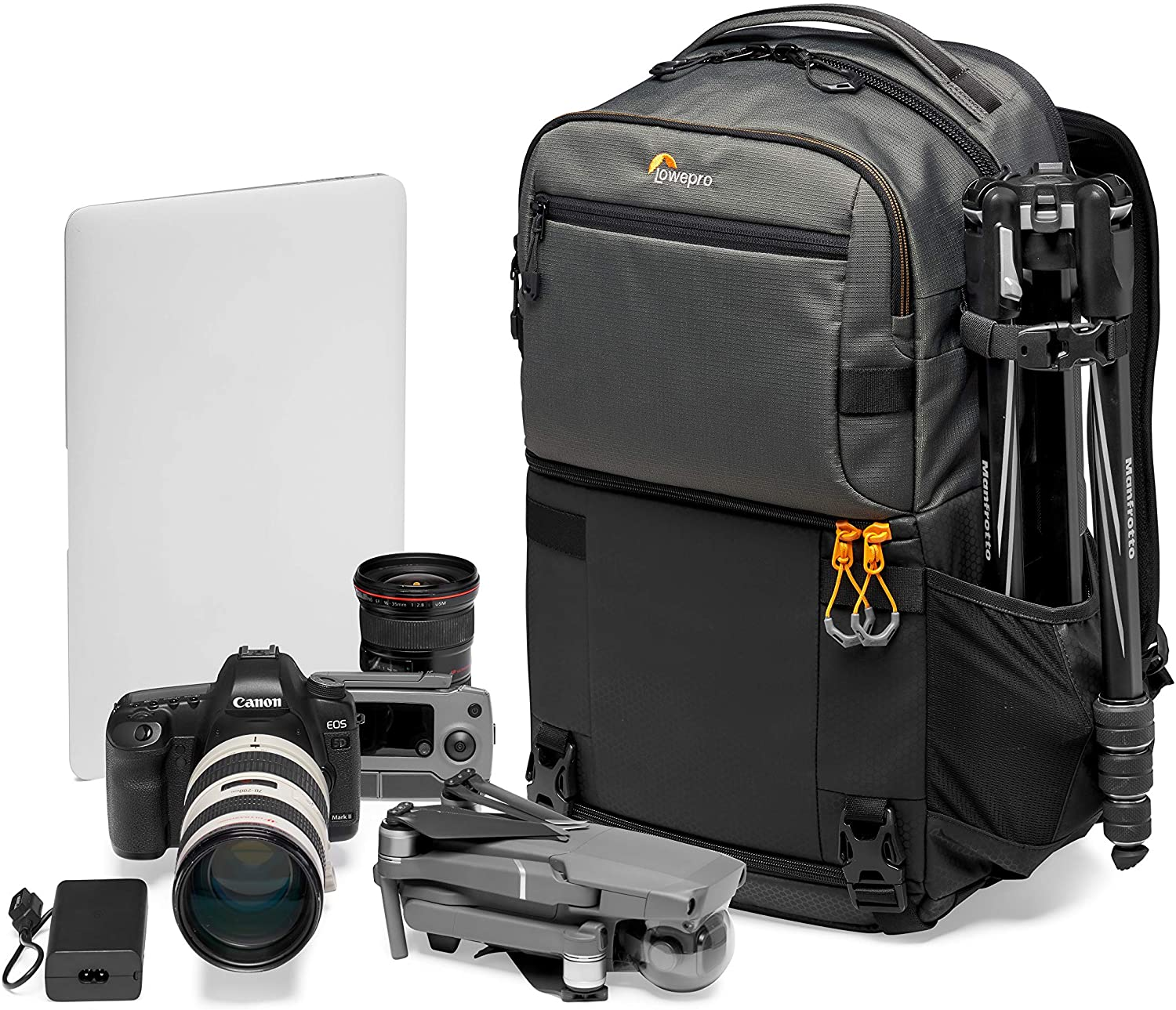 Lowepro Fastpack PRO BP 250 AW III Mirrorless and DSLR Camera Backpack, QuickDoor Access Camera Bag Insert, 15 inch Laptop Compart- Camera Bag Backpack for Mirrorless, DSLR, Nikon D850, 300D Ripstop