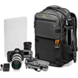 Lowepro Fastpack PRO BP 250 AW III Mirrorless and DSLR Camera Backpack, QuickDoor Access Camera Bag Insert, 15 inch Laptop Co