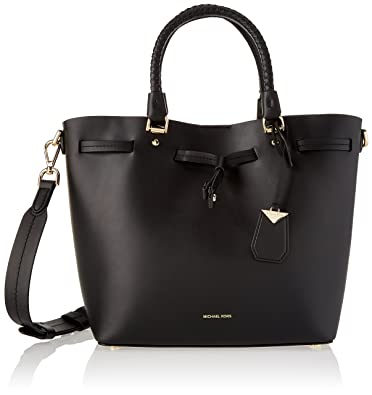 4531ece77b Michael Kors Blakely Md Bucket Bag, Sacs portés épaule femme, Noir (Black)