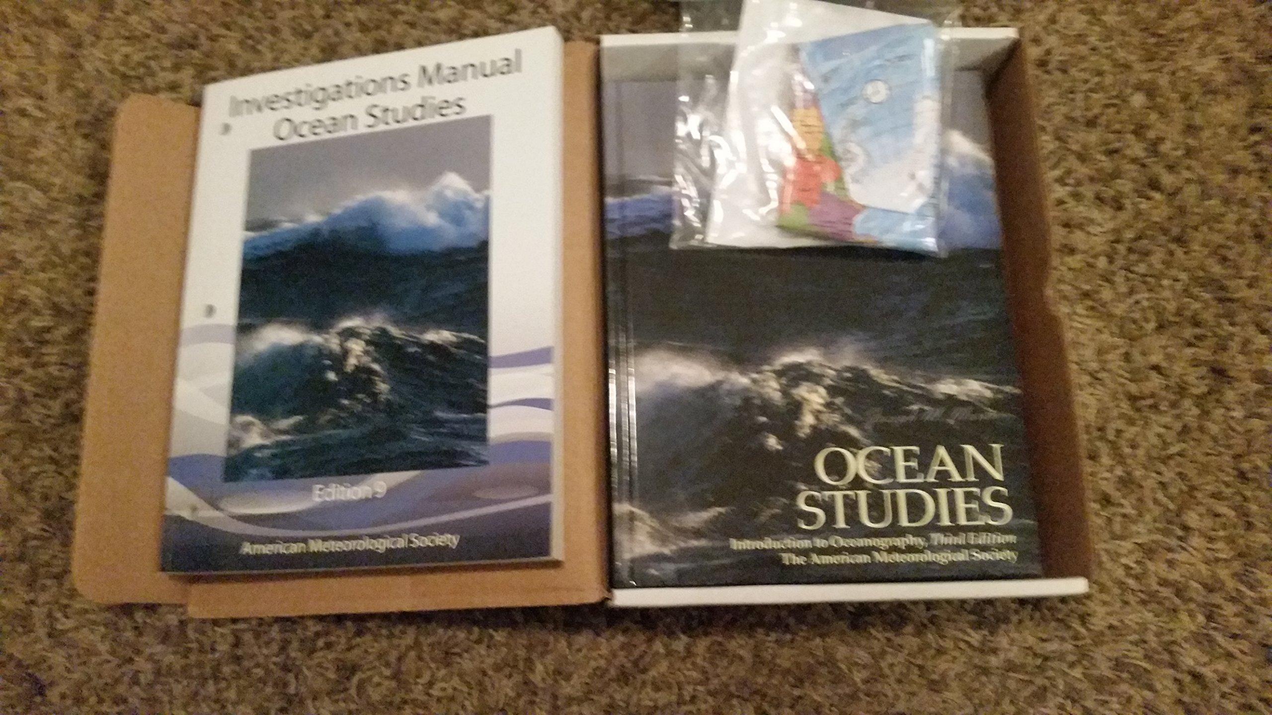 Ocean Studies Student Package 9th Edition: Joseph M. Moran: 9781935704966:  Amazon.com: Books