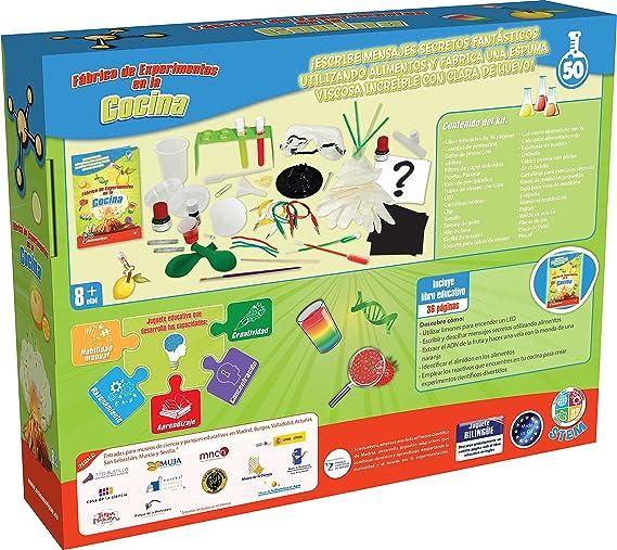 Science4you-experimentos Fábrica de los experimentos en la Cocina, Juguete Educativo y científico, 8a&ampntildeos (600256): Amazon.es: Juguetes y juegos