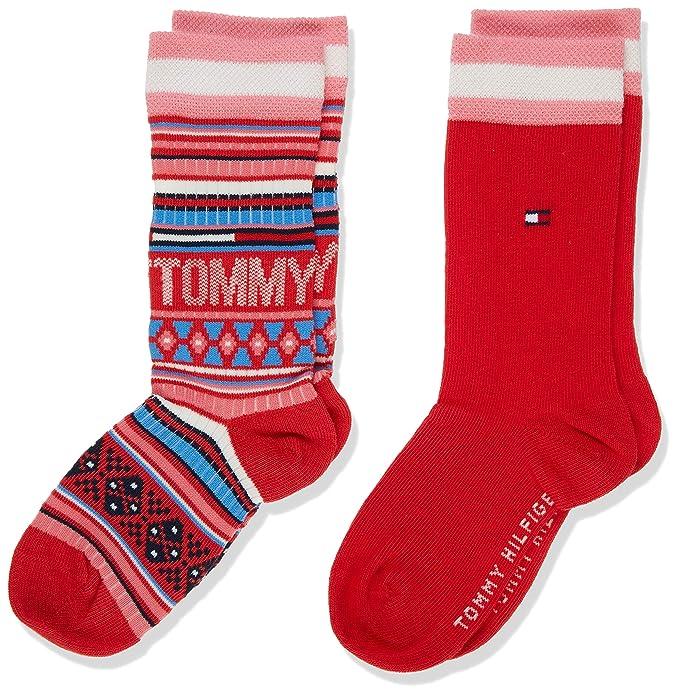 Tommy Hilfiger Calcetines Pack de 2 para Ni/ñas