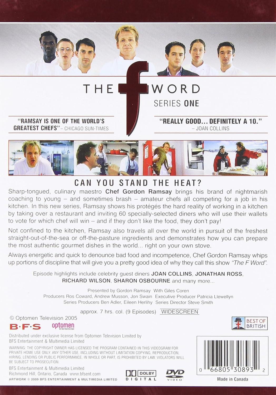 Amazon.com: The F Word - Series One: Gordon Ramsay, Giles Coren ...