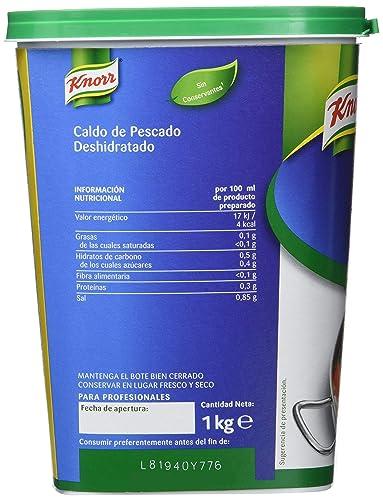 Knorr - Caldo de Pescado - en polvo - 1 kg: Amazon.es: Alimentación y bebidas