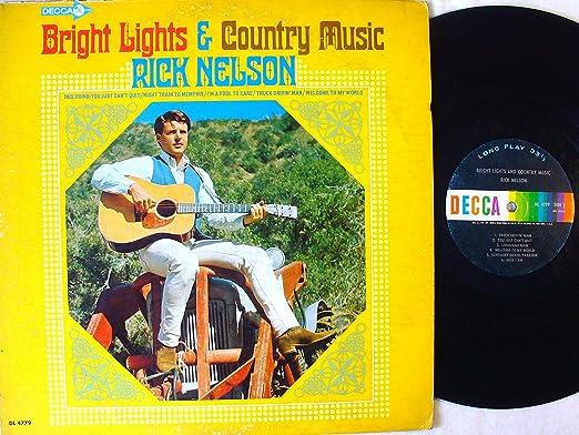 Rick Nelson - Bright Lights & Country Music - Amazon.com Music
