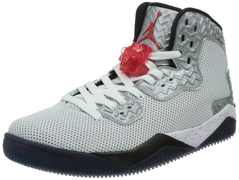 Nike Herren Air Jordan Spike Forty PE Turnschuhe, Talla  45.5 EU|Wei? / Rot / Schwarz (Wei? / Feuer - Rot-schwarz)