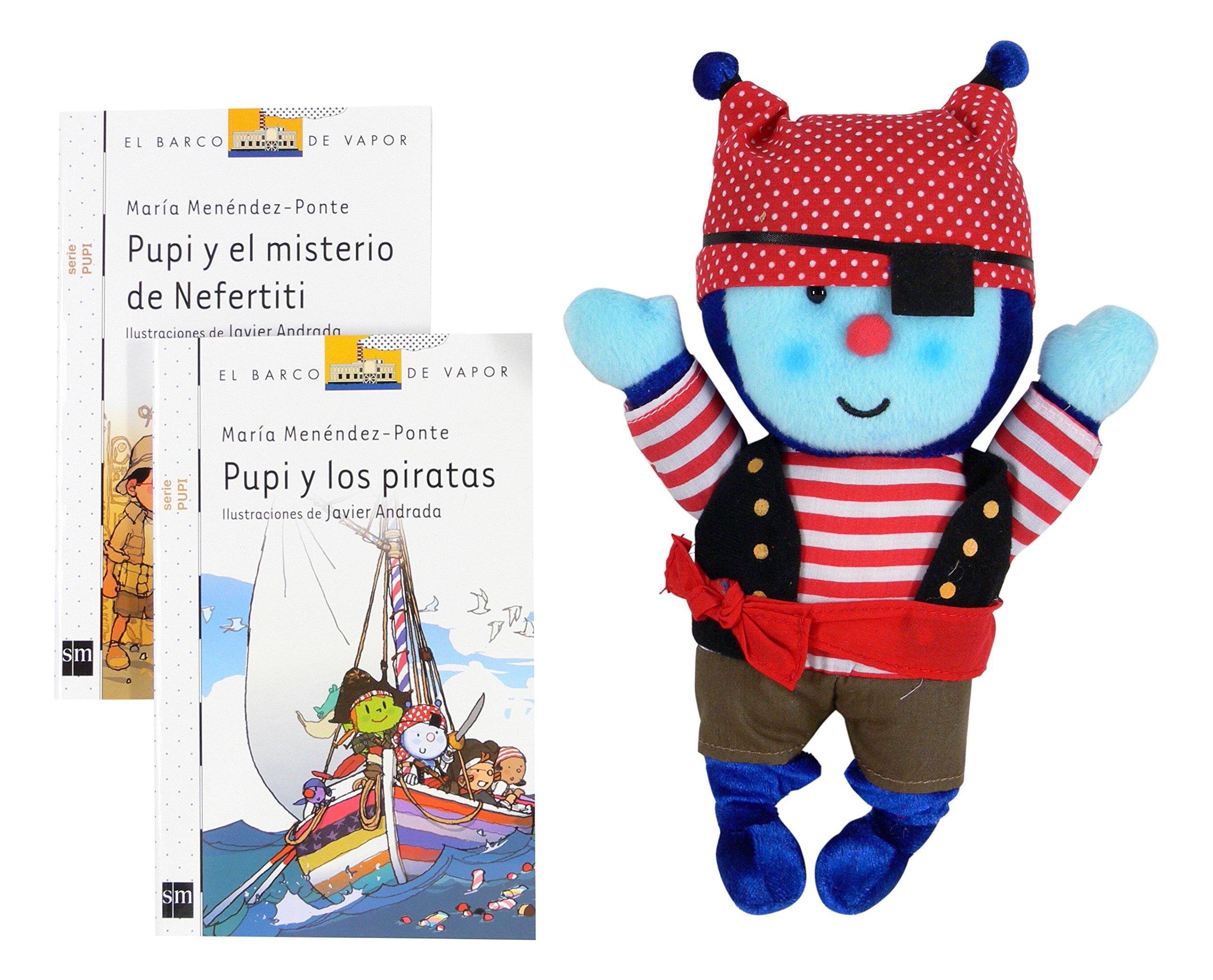 Pack Pupi Pirata (El Barco de Vapor Blanca): Amazon.es: Menéndez ...