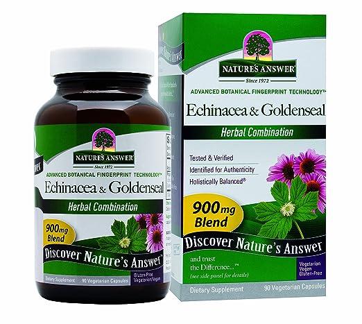 Nature's Answer Vegan Echinacea & Goldenseal