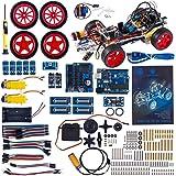 SunFounder Robotics Model Arduino Car kit Electronics DIY Smart Toys Servo Motor Uno R3 Sensor