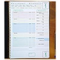 Personal planner - Diario alimentare, peso e attività fisica - Blocco con spirale A4 21x30cm