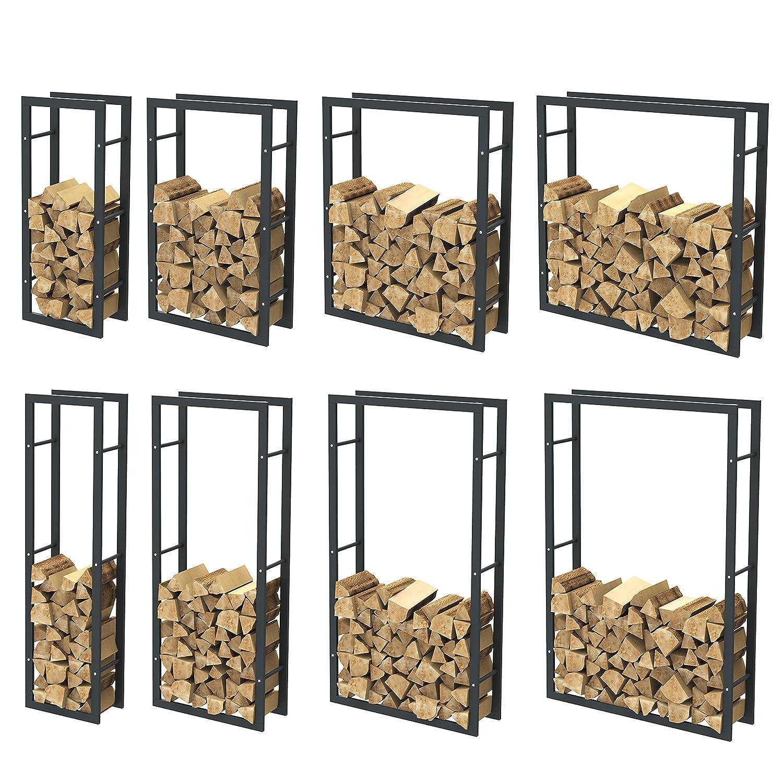 Kaminholzregal Brennholzregal Feuerholzregal Kaminholzständer Kaminholzhalter Brennholz 34000 TIGGO