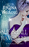 She Shall Have Music: A Romantic Cozy Mystery (The Psychic Seasons Series Book 3)