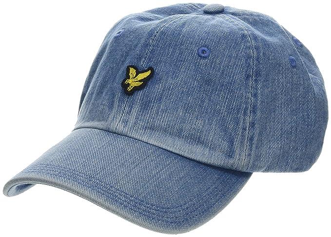 8c49674be606 Lyle & Scott Men's Denim Baseball Cap Light Blue Z, One (Size: 1SZ ...