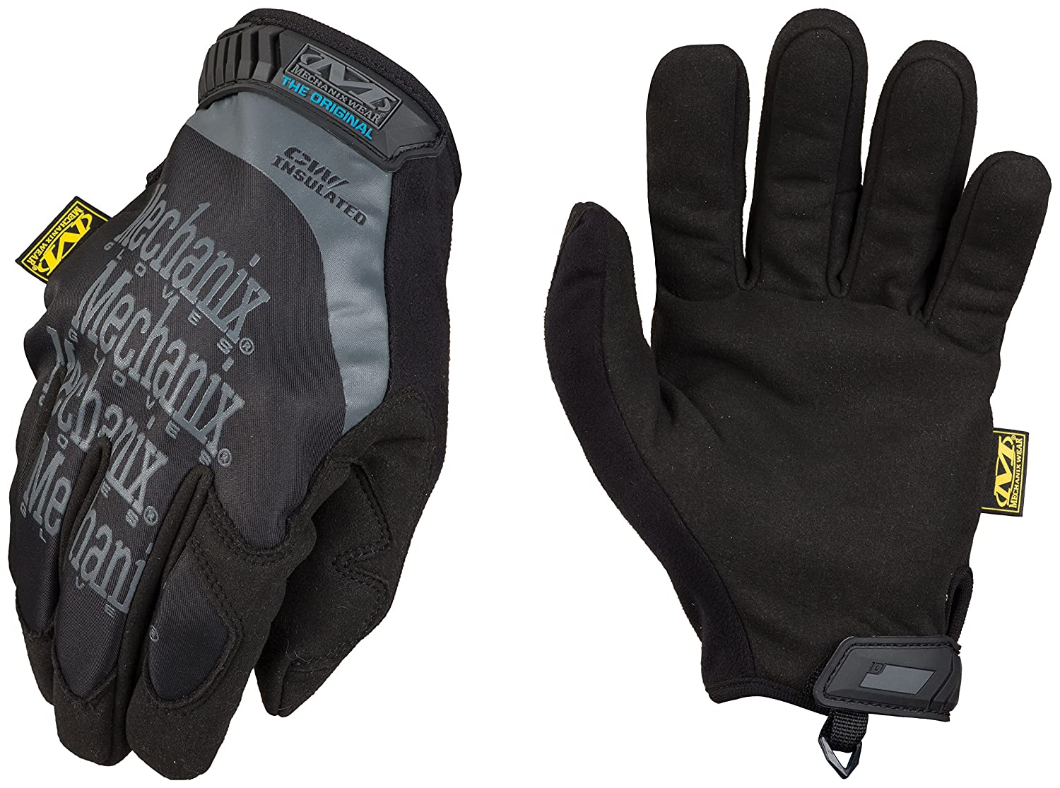 Mechanix Wear - Original Insulated Winter Gloves (XX-Large, Black) MG-95-012