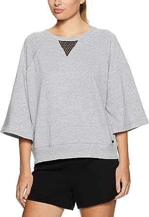 CALVIN KLEIN Women's Mesh Sweatshirt