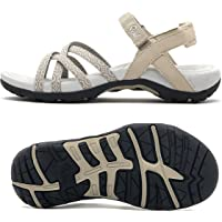 Viakix Walking Sandals for Women – Comfortable Athletic Stylish Shoes for Hiking, Outdoors, Beach, Water (Medium Width)