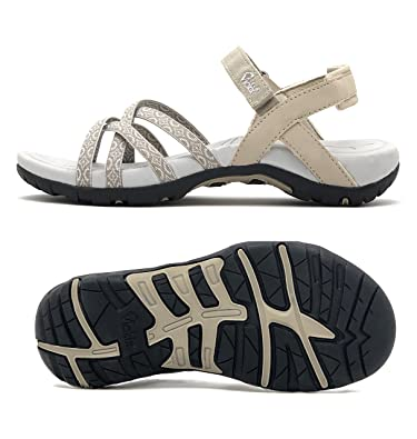 7505a540a7c685 Viakix Walking Sandals for Women - Comfortable Stylish Athletic Sandals for  Hiking, Water, Outdoors