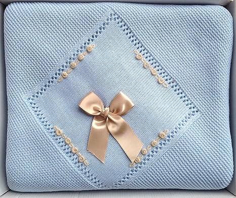 HC Enterprise,Toquilla para bebé,color azul: Amazon.es: Bebé