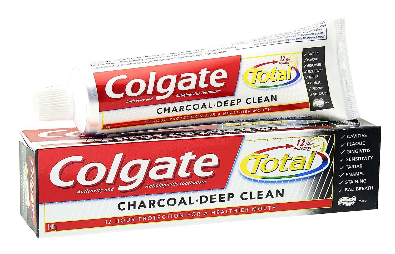 Colgate Total Charcoal Deep Clean Toothpaste 120 Grams Pack