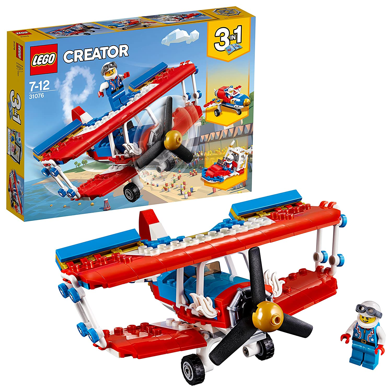 LEGO UK - 31076 Creator Daredevil Stunt Plane Building Toy