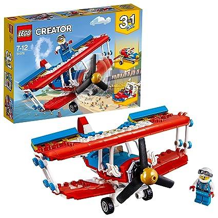 Haut Creator Lego Risque 31076 L'avion De Construction Voltige À Jeu j34AR5L