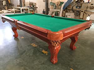 8 pies mesa de billar pool Tunierpoolbillard Billrad con 3 cm ...