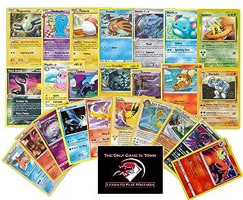 Amazon Com 100 Pokemon Cards Plus 10 Rare Pokemon Cards And