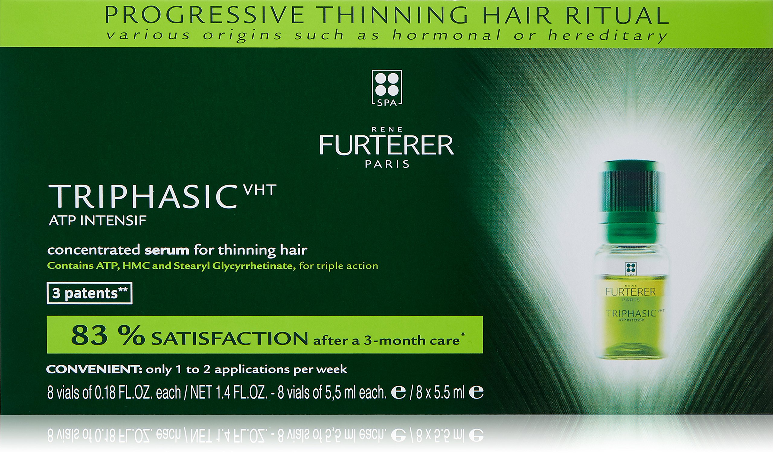 Triphasic Progressive Thinning Hair Treatment