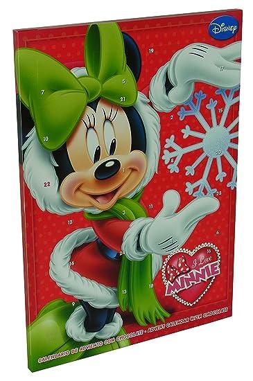 Calendrier De L Avent Minnie.I Love Minnie Mouse Calendrier De L Avent Avec Du Chocolat