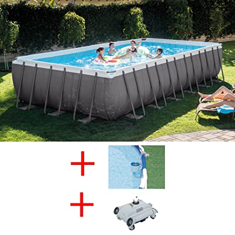 Oferta piscina Intex 28362 ultraframe 732 x 366 x 132 cm + ...
