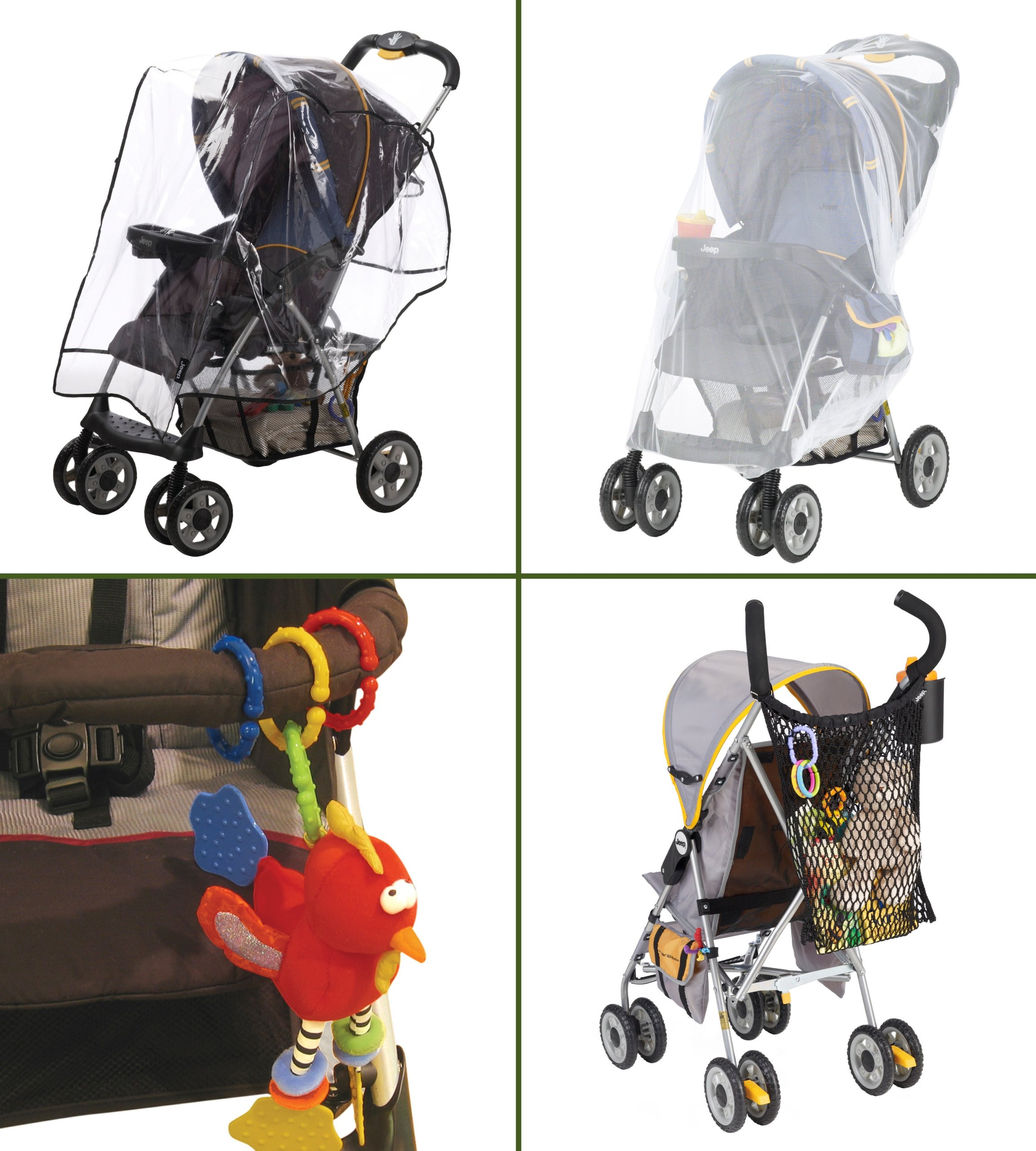 J is for Jeep Stroller Essential Accessories Starter Kit by Jeep (Image #1)